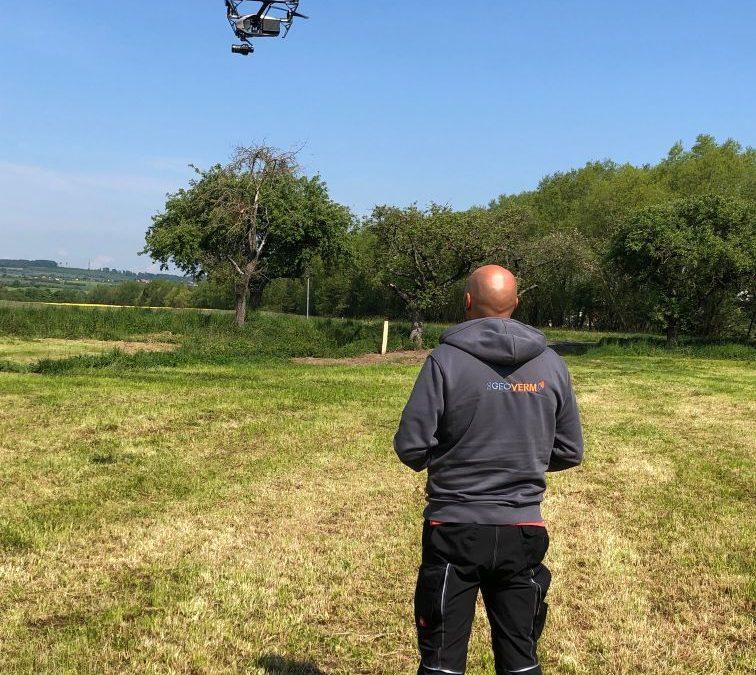 Vermessung mittels Drohnen-Befliegung